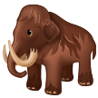 Emoji Mamut Samsung