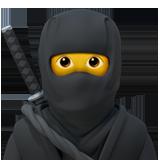 Emoji Ninja Apple