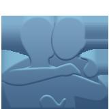 Emoji Orang Berpelukan Apple