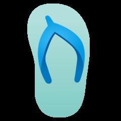 Emoji Sandal Jepit Google