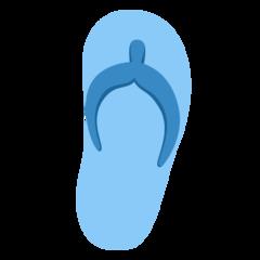 Emoji Sandal Jepit Twitter
