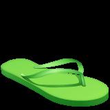 Emoji Sandal Jepit WhatsApp