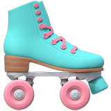 Emoji Sepatu Roda Apple