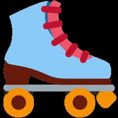 Emoji Sepatu Roda Twitter
