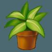 Emoji Tanaman di Dalam Pot Samsung