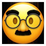 Emoji Wajah Menyamar Apple