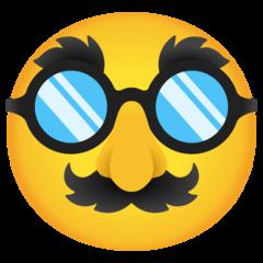 Emoji Wajah Menyamar Google