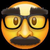 Emoji Wajah Menyamar WhatsApp